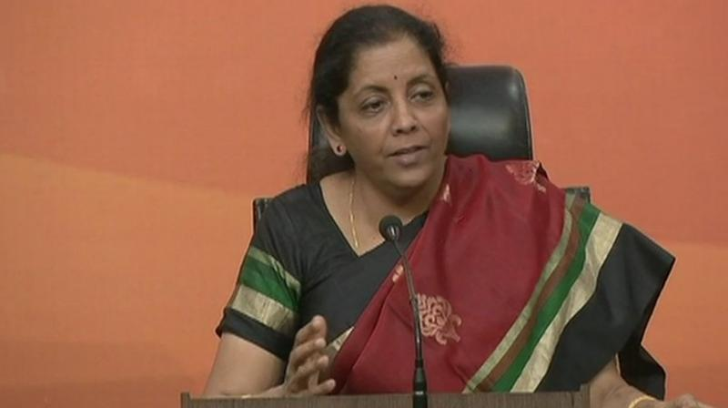 Defence Minister Nirmala Sitharaman also said that Pakistani military was becoming increasingly dependent on the Chinese for arms and equipment. (Photo: File/ANI/Twitter)