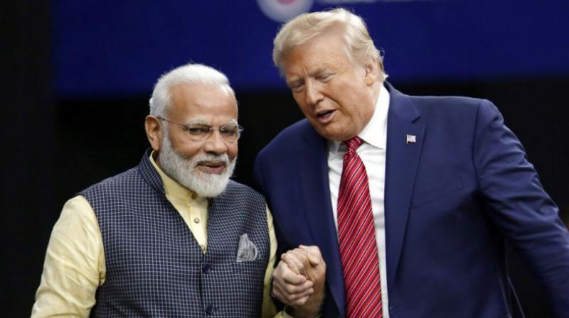 In his first address, PM Modi allocated almost the entire speech to thanking the US President for taking bilateral ties to