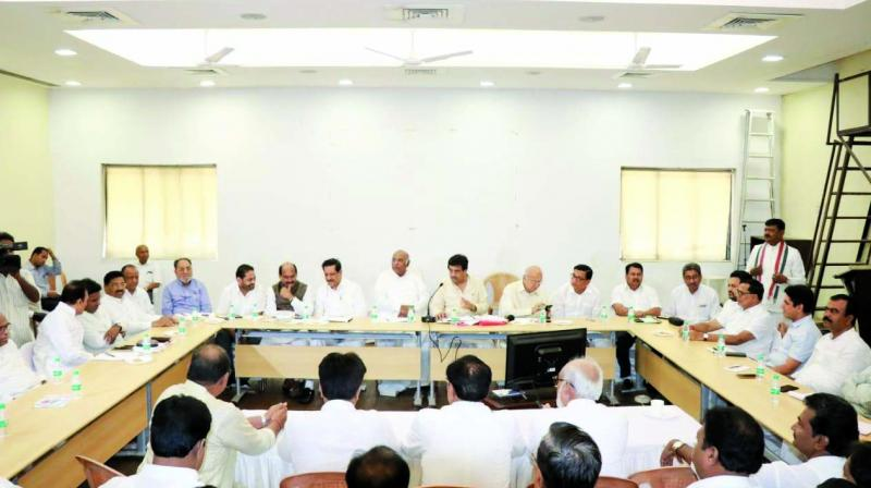 Congress's review meeting.