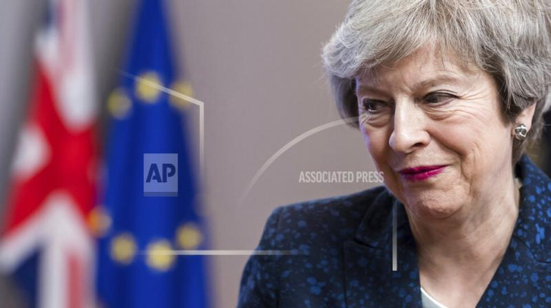 She said that talks with the EU are at a crucial stage. (File Photo)