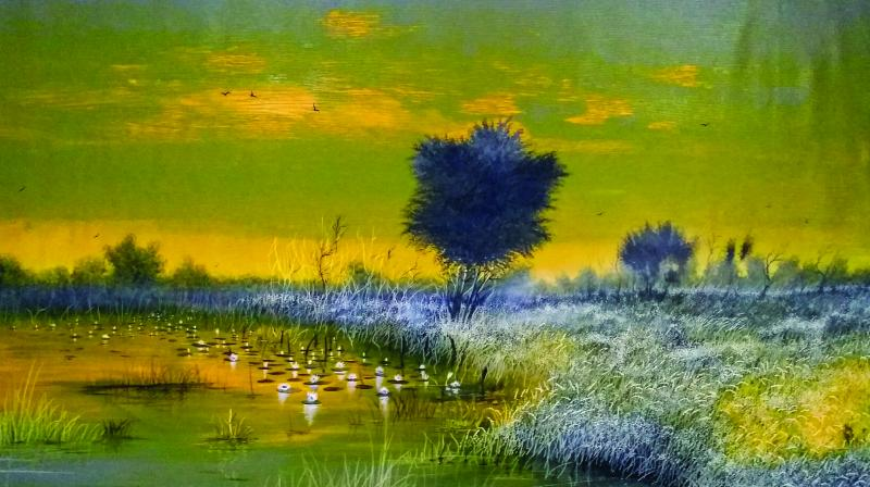 Painting by Ashok Baldodia