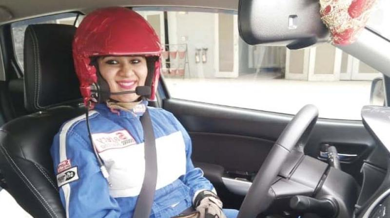 Mumbai car racer Sneha Sharma has competed with men in car racing and played an Important  role in inspiring women to Race. After fighting her way back  from dreaded knee injury,   and despite her flying career touching heights,she aims at a stronger track comeback.