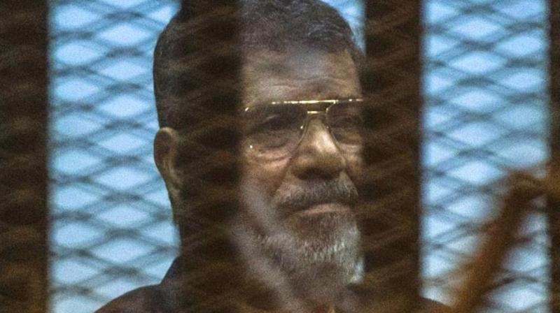 State TV said Morsi died before he could be taken to the hospital. (Photo: AFP)
