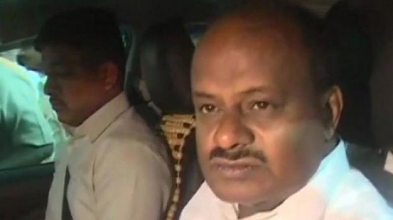 Kumaraswamy's wife Anitha is an MLA from Ramanagara, the seat vacated by her husband as he chose Channapattana out of the two seats he had contested and won in the May, 2018 state Assembly polls (Photo: File)