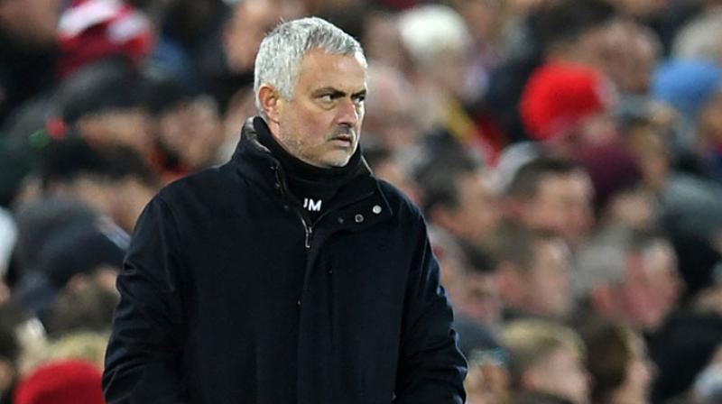 Tottenham Hotspur coach Jose Mourinho has lashed out at the Premier League's congested fixture list over the Christmas period. ( Photo:AFP)