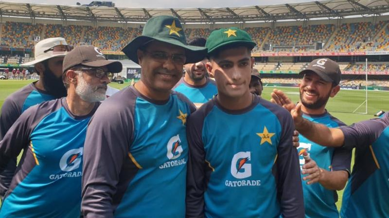 Pakistan pacer Naseen Shah on Thursday became the youngest Test cricketer to make his debut in Australia and the ninth youngest debutant in the history of longest format for the game. (Photo:Twitter)