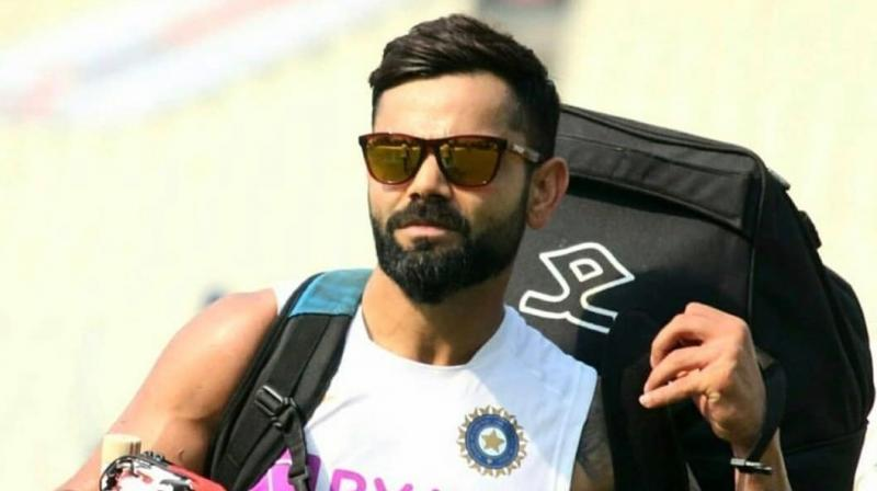 India skipper Virat Kohli is all set for the 'historic' day-night Test match against Bangladesh. (Photo:Twitter)
