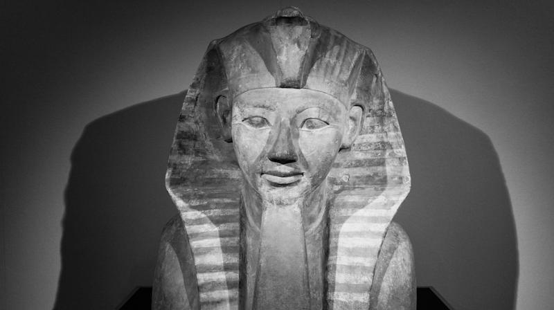 The more than 3,000-year-old sculpture, on display at Christie's London auction house, shows the boy king taking the form of the ancient Egyptian god Amen. (Photo: Representational/Pixabay)