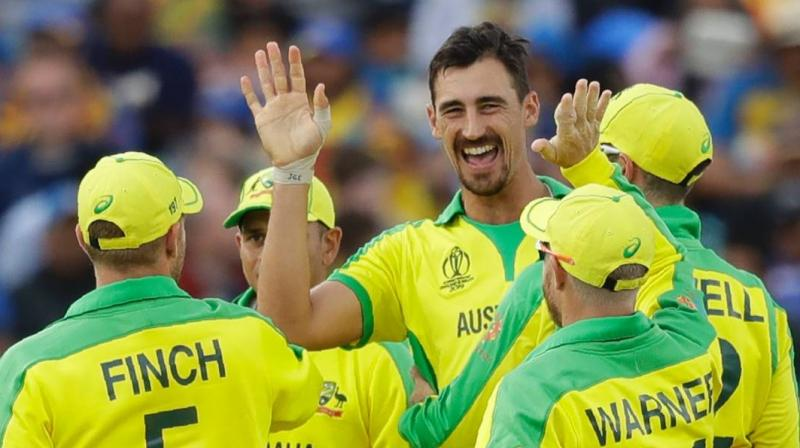 Mitchell Starc also scored 29 runs in the semi-final match against England (Photo: AP)