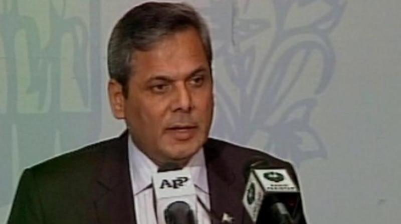 Pakistan's Foreign Office Spokesman, Nafees Zakaria. (Photo: ANI Twitter)