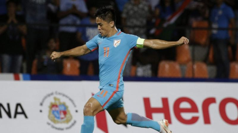 Chhetri said his teammates have also become more aware of the diet now. (Photo: AP)
