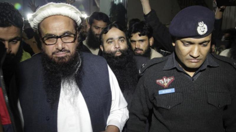 Saeed was put under house arrest in January after years of living freely in Pakistan, one of the sore points in its fraying relationship with the United States. (Photo: File)