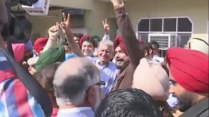Congress candidate Sunil Jakhar had earlier claimed the bypoll would be a 'referendum' on the NDA government. (Photo: ANI)