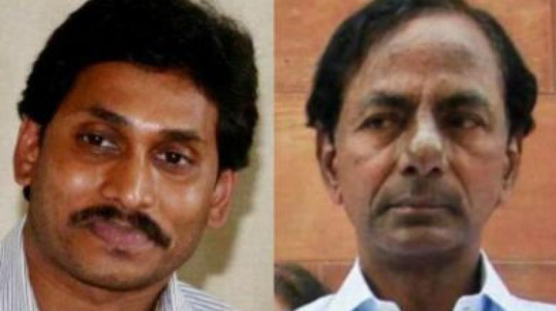 After a meeting with Jagan on June 28, Rao had said both governments decided to work together on unresolved issues concerning both states as there was a 'qualitative change' in relations between them. (Photo: File)
