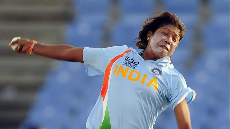 Jhulan Goswami eclipsed the decade-long record in the name of Australian Cathryn Fitzpatrick.