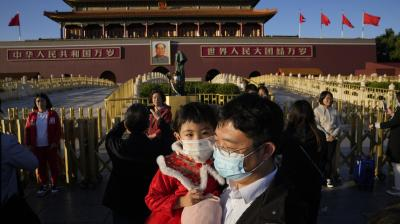 China reports 43 new Covid cases on October 21, vs 21 a day earlier