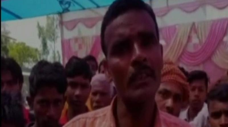 Tribhuvan Shah, bride's father said, 'The groom was so drunk that he was unaware of his surroundings. He misbehaved on the stage, so my daughter refused to marry him.' (Photo: ANI)