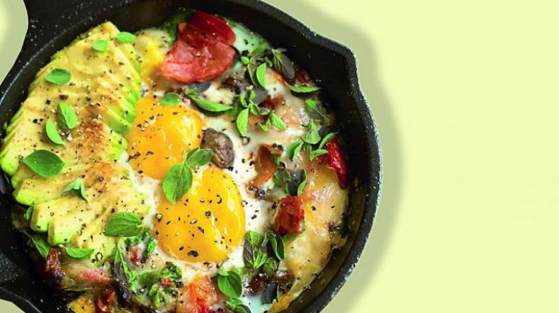 Although eggs tend to be a staple in a lot of kitchens, this simple superfood is often overlooked. They are full of protein, B vitamins and good fats.