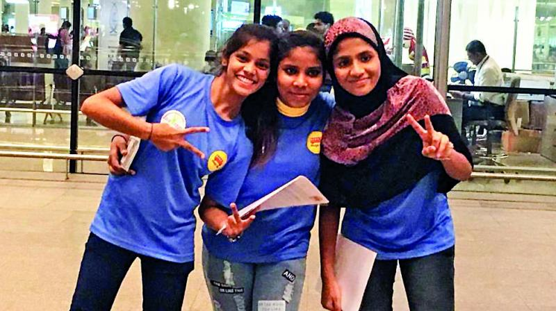 Three girls from the slums of Dharavi and Mankhurd are on their way to California to attend a sports leadership camp.