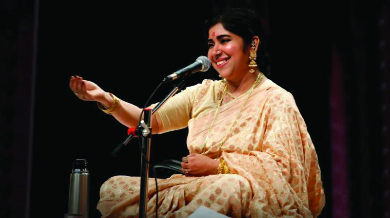 The vibrant Dr Soma Ghosh is a positive force on India's Hindustani Classical music scene.