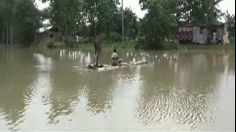 The death toll due to flood in Assam has increased to 28 with 10 bodies recovered from different parts of the region in the last 24 hours, authorities said on Thursday. (Photo: File)