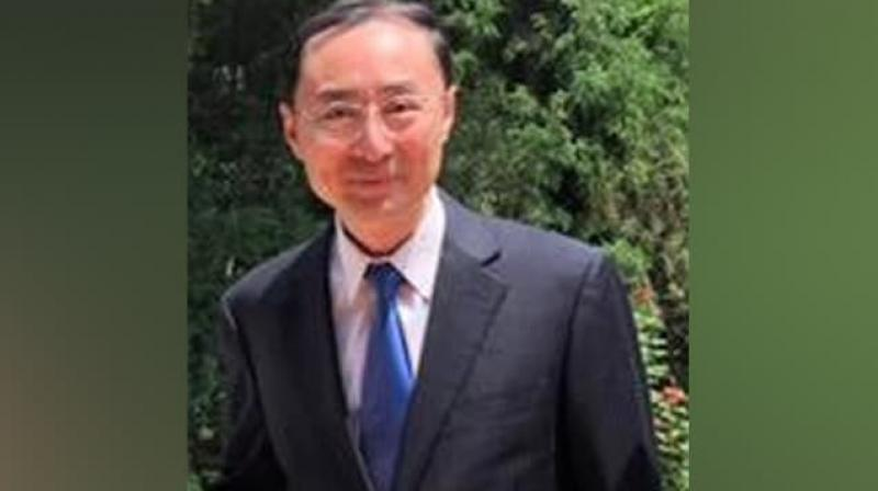 China's new Ambassador to India Sun Weidong said that with two strong leaders at the helm in both the countries, the ties are set to reach new heights. (Photo: Twitter/ VikramMisri)