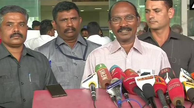 ndian Space Research Organisation (ISRO) chief K Sivan on Sunday said that the technical snags that forced it to abort the scheduled launch of Chandrayaan-2. (Photo: ANI)