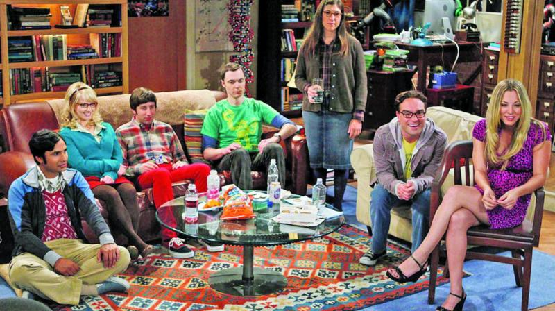 A still from 'The Big Bang Theory'