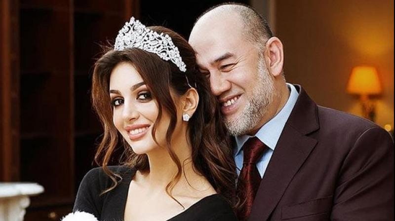 Malaysia's former king has divorced a Russian ex-beauty queen just months after news of their wedding emerged and he abdicated in a first for the country, his lawyer said. (Photo: Instagram/ Sultan Muhammad V)