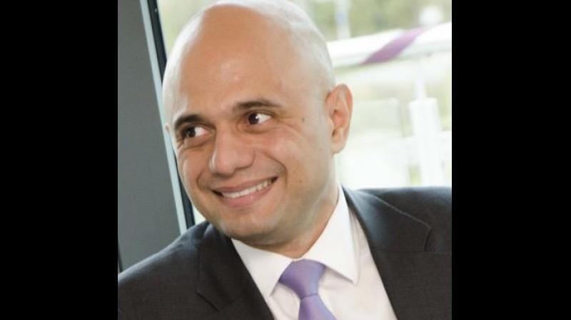 Sajid Javid became Britain's first ethnic minority finance minister on Wednesday, capping off an unlikely rise from a humble start on a street dubbed the country's worst to holding the purse strings for the world's fifth-biggest economy. (Photo: Twitter/ Sajid Javid)