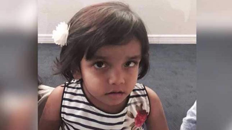 The Indian-American foster father of three-year-old Sherin Mathews, sentenced to life in prison for the death of the toddler who was found dead in a culvert in 2017, has begun serving the jail term in Dallas. (Photo: Facebook/ where is Sherin Mathews)