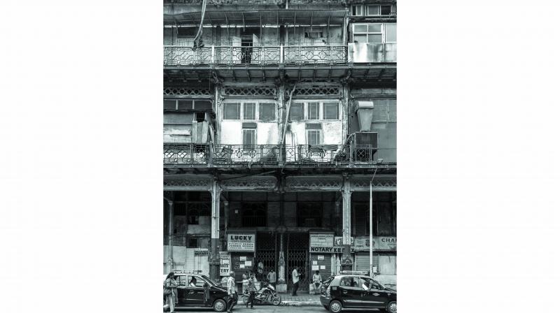 The artist's impression of Esplanade Mansion