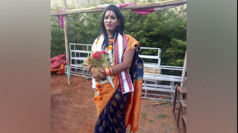 Kajal is also the president of Transgender Association of Jajpur and has been working for transgender rights as well as on local issues. (Photo: ANI)