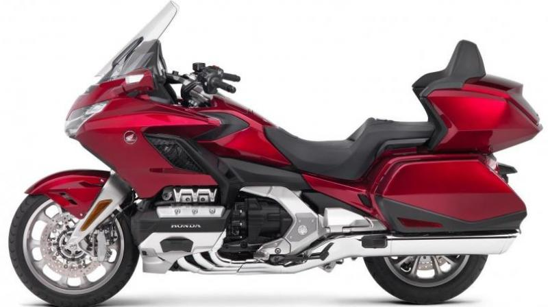 The 2018 edition of the Honda Gold Wing motorcycle will now be available here at a cost of Rs 26.85 lakh. Honda Motorcycle and Scooter India announced the delivery of the candy ardent red colour tourer on Tuesday, a press release said.