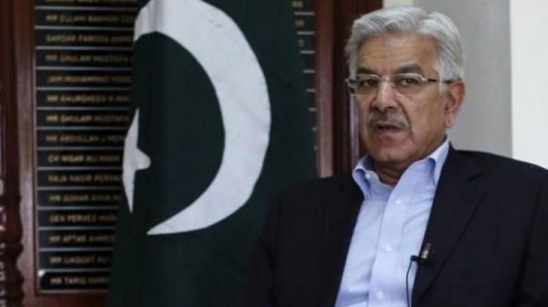 Khawaja Asif (Photo: AFP/File)