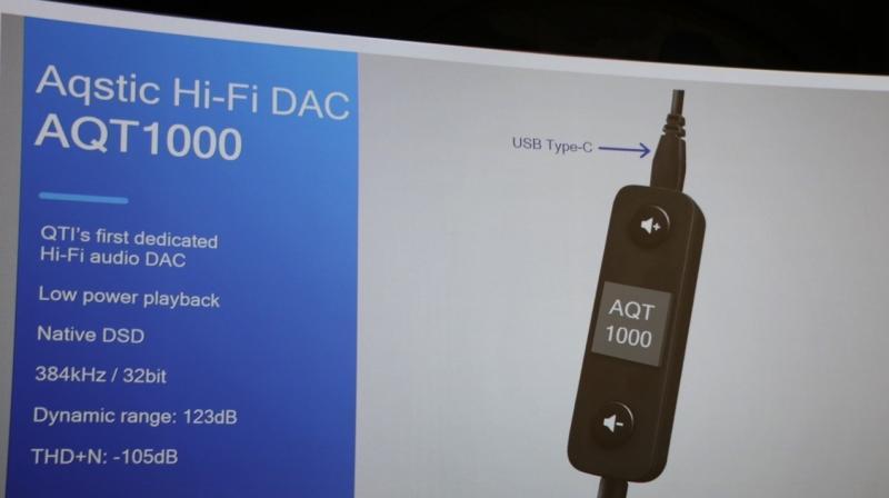 Press Slide depicting the new DAC : Qualcomm.