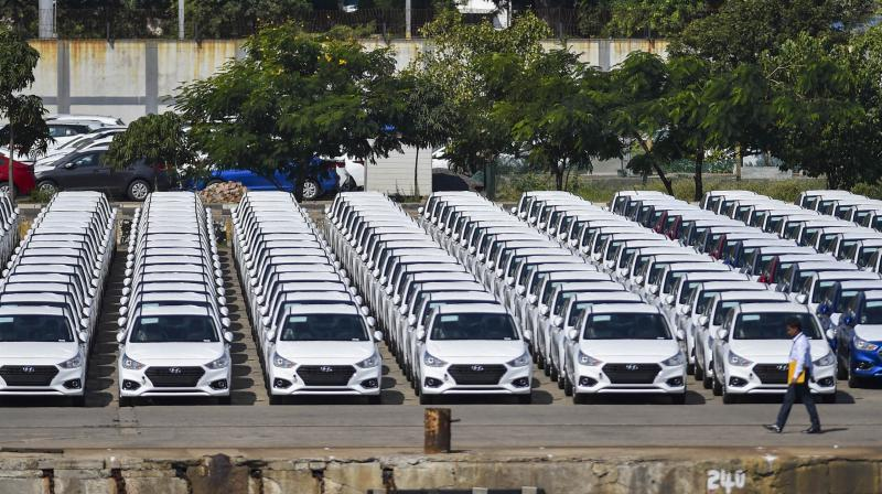 Automakers in India want a temporary tax cut on cars, trucks and motorbikes . (PTI Photo)