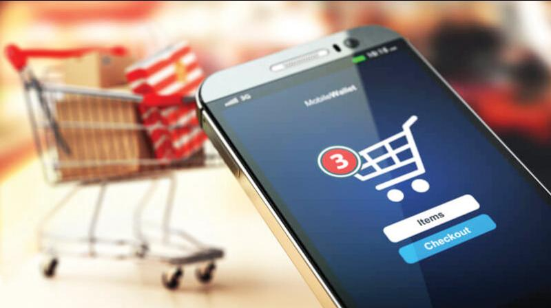 The government on Sunday prohibited the sale of non-essential items through e-commerce platforms during the ongoing lockdown. (DC Photo)
