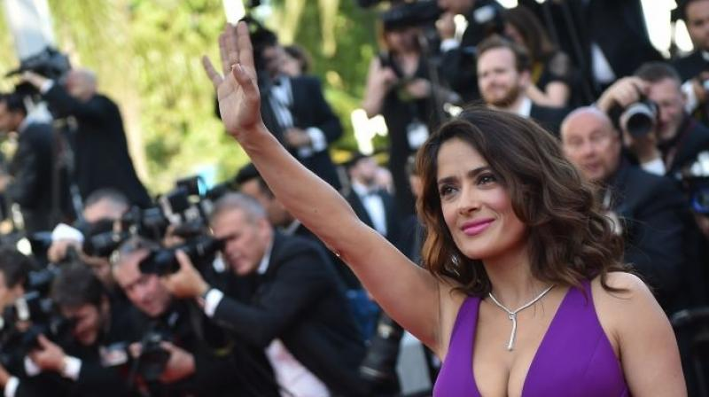 Salma Hayek joins cast of The Hummingbird Project, to play