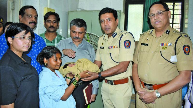 The stolen infant was reunited with his mother. (Photo: Deepak Kurkunde)
