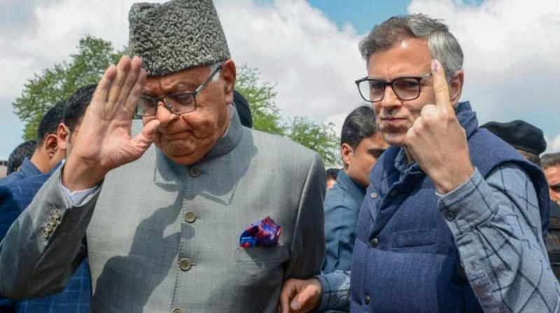 This comes after earlier in the day Jammu and Kashmir administration allowed a delegation of National Conference from Jammu to meet Farooq and Omar Abdullah. (Photo: PTI | File)