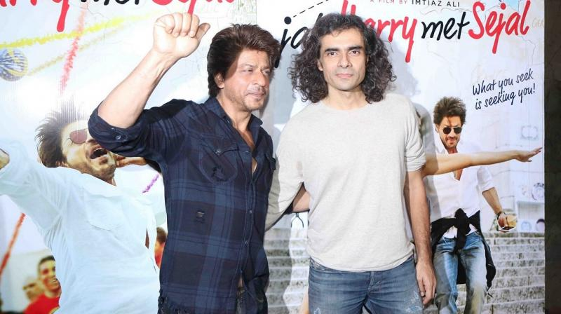 Shah Rukh Khan and Imtiaz Ali are collaborating for the first time in 'Jab Harry Met Sejal.'