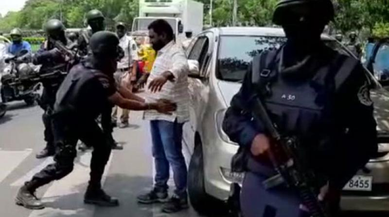 Octopus is one of the elite organisations with commando outfit to combat urban terror scenario and has wings for house intervention, rescue operation and hostage release. (Photo: ANI)