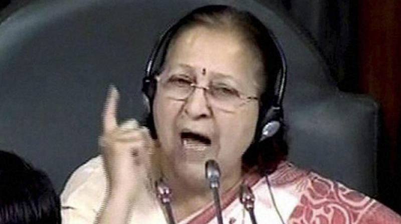 Lok Sabha Speaker Sumitra Mahajan. (Photo: PTI)