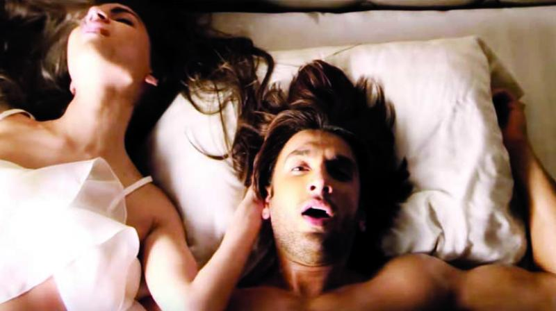 Ranveer Singh in a Durex ad