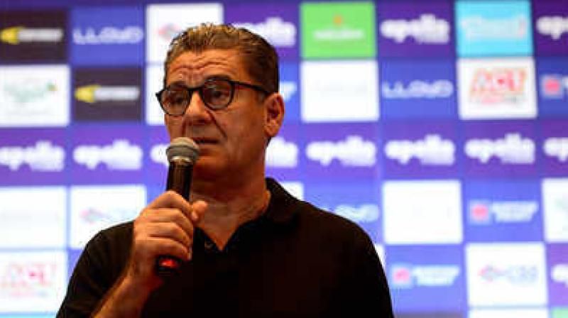 John Gregory had led Chennaiyin FC to the title win during the 2017/18 Indian Super League campaign. (Photo: Twitter)