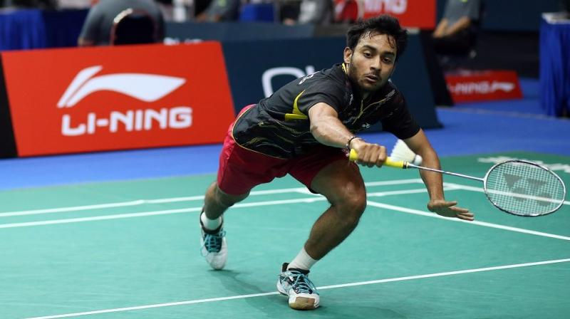 Earlier on Saturday, Sourabh Verma overpowered South Korea's Heo Kwang Hee to register a 21-17, 16-21, 21-18 win in the semi-final match. (Photo: Twitter)