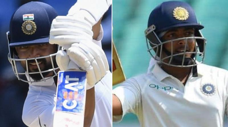 Test specialist Ajinkya Ranahe and young opener Prithvi Shaw struck gritty fifties as Mumbai ended day one of their Ranji Trophy lung opener against Baroda at 362/8 here on Monday. (Photo: AFP)