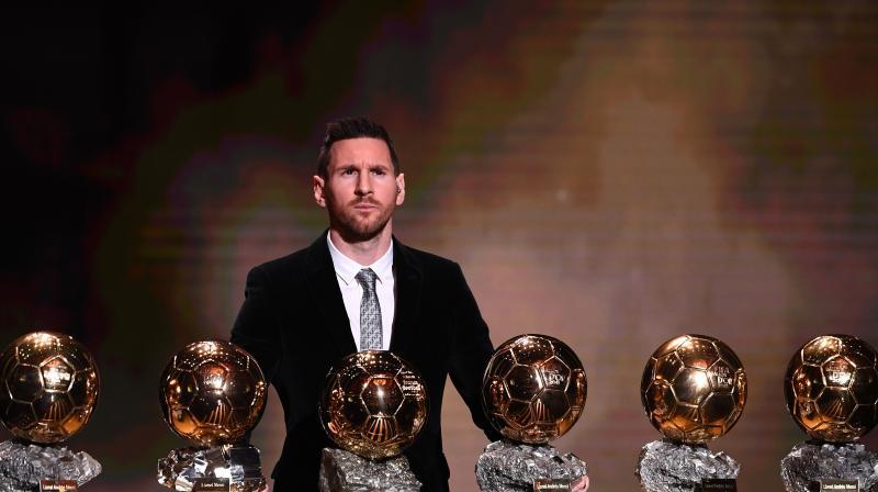 Kuldeep Yadav on Tuesday congratulated Barcelona striker Lionel Messi on winning the record sixth Ballon d'Or award. (Photo: AFP)