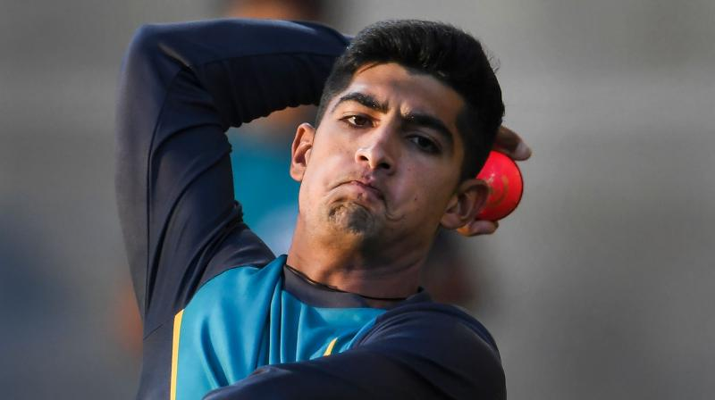 Pacer Naseem Shah has been included in Pakistan's 14-member squad for the upcoming U-19 Cricket World Cup, selection committee confirmed on Friday. (Photo: AFP)